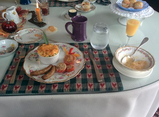 Smithfield Farm Bed and Breakfast: Breakfast was delicious