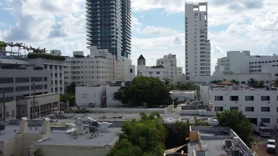 Sbh South Beach Hotel View From The Rooftop Pool Of Sister Riviera