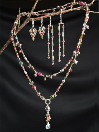 Carbondale, CO: Wild Flower Watermelon Tourmaline Collection | October Birthstone!
