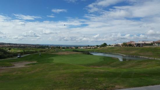 Sonoma Ranch Golf Course from the Sunset Grill