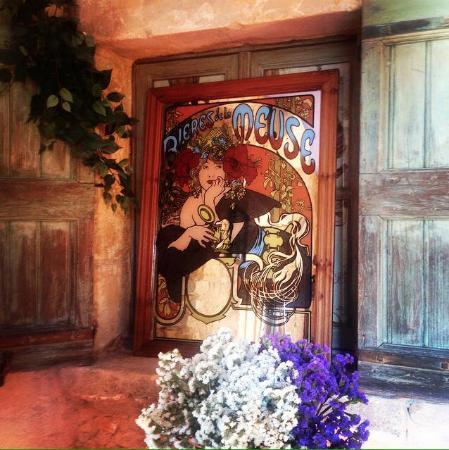 Le Crillon Hotel : Dettaglio sala colazioni