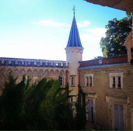 Jonquieres, Francia: Vista dalla camera