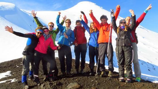 Hostal Margouya Patagonia: We made it!