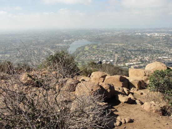 Mission Trails Regional Park: View of San Diego County from Mt. Cowles trail