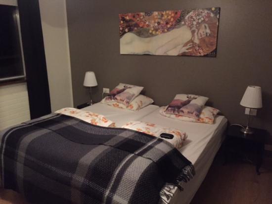 Patreksfjorour, أيسلندا: Comoda cama