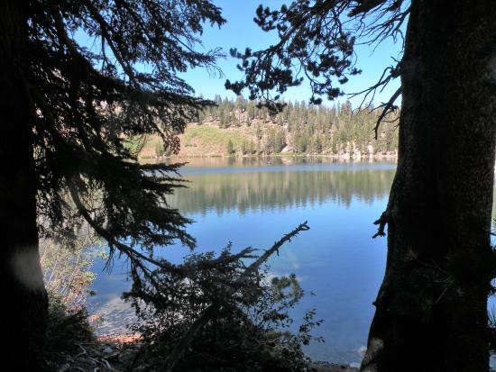 Woods Lodge: Lake George from JT Lake Hiking Trail