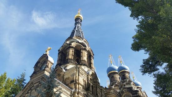 Russisch-Orthodoxe Kirche des Heiligen Simeon vom Wunderbaren Berge