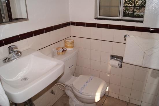 Rose Bowl Motel : バスルーム