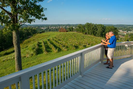 Georgetown Vineyards: enjoying our deck