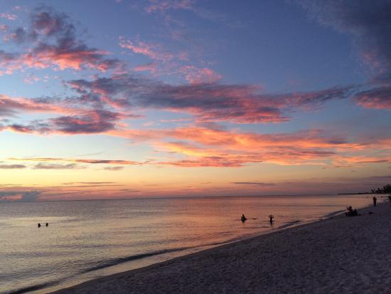 Lowdermilk Beach The At Sunset
