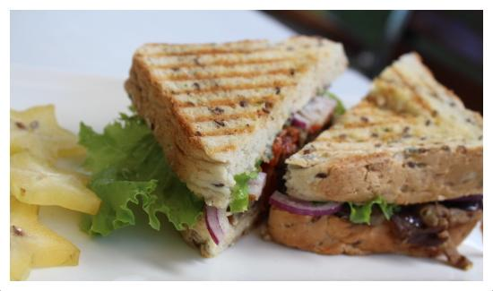 Gourmet Vegetarian Sandwich - Picture of Pacific Jewell's ...