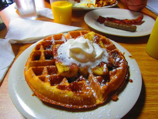Anderson, SC: Banana Foster Waffle