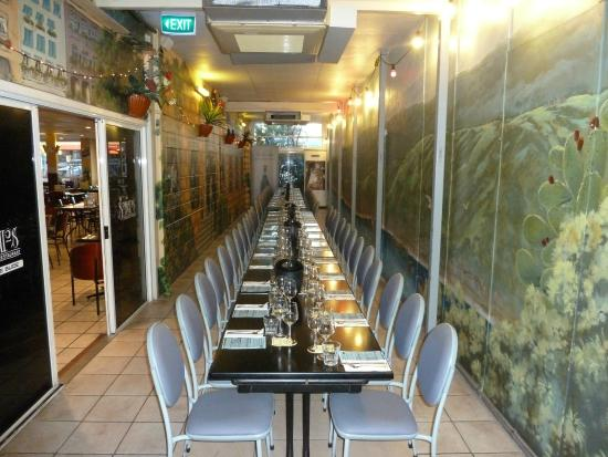 Sorbello's Italian Restaurant: Side Room - Closed in - Airconditioned Courtyard - Function seating