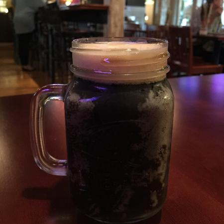 The Mason Jar Grill and Pub: Sweet Baby Jesus on draft