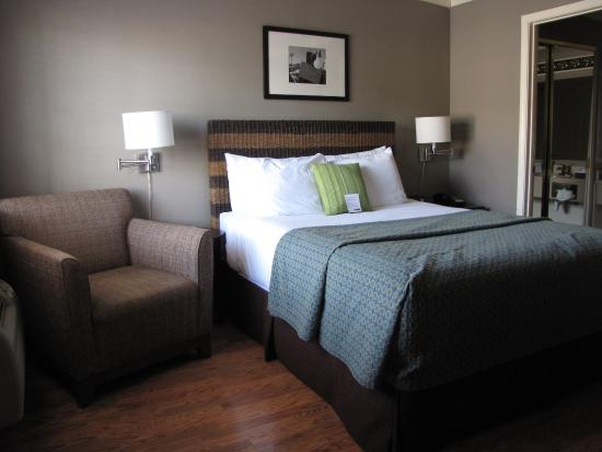 Earthbox Inn & Spa: Queen bed room