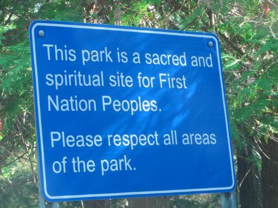 Petroglyphs Provincial Park: Please Be Respectful