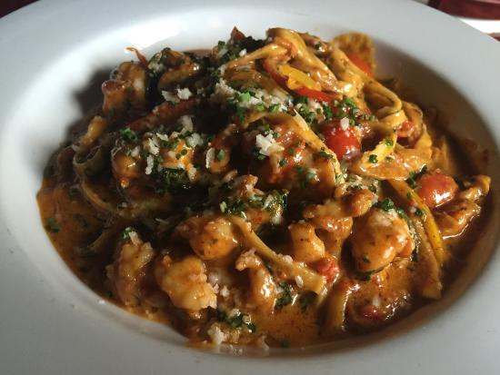 Lorain, OH: Shrimp Linguini