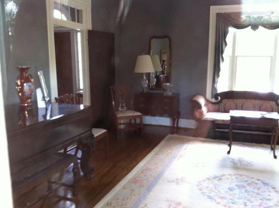Kilgore Lewis House: through the window