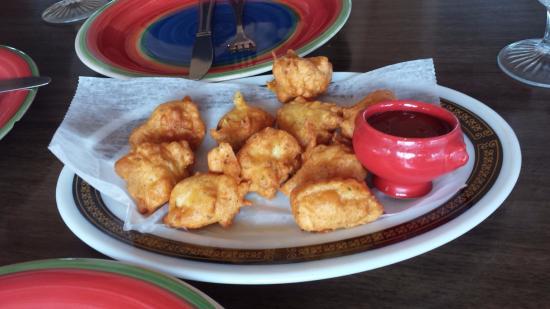 Tandoori Grill: chicken pakora