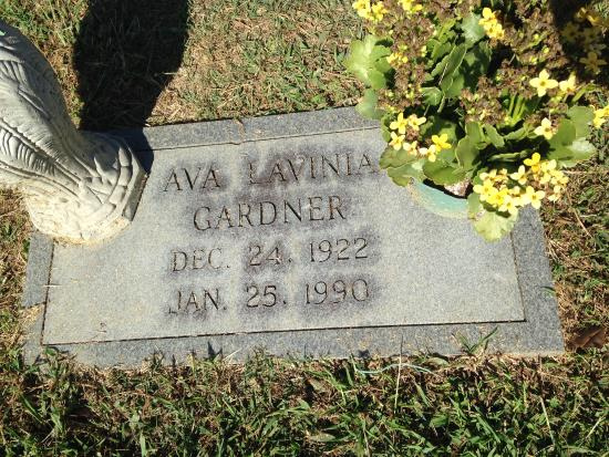Smithfield north carolina grave site picture of ava for Gardner website