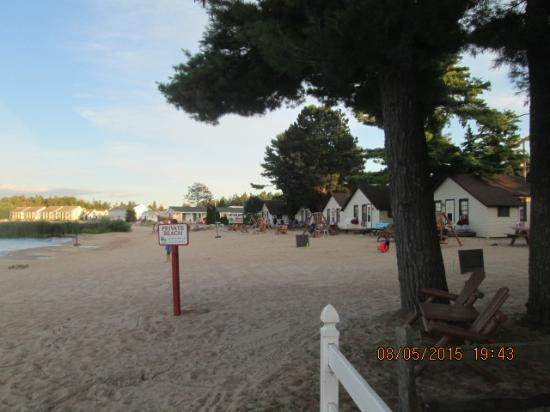 The Beach House: Another View of Beach area