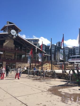 Park City Mountain Resort: The canyon