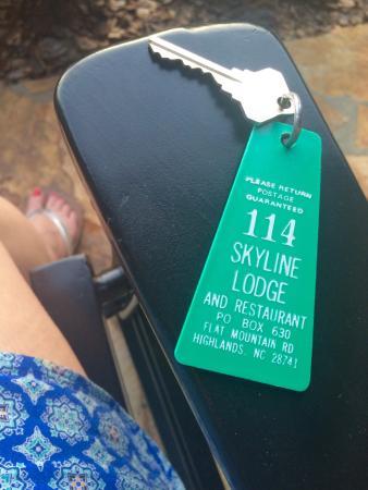 Skyline Lodge and Restaurant: July 2015