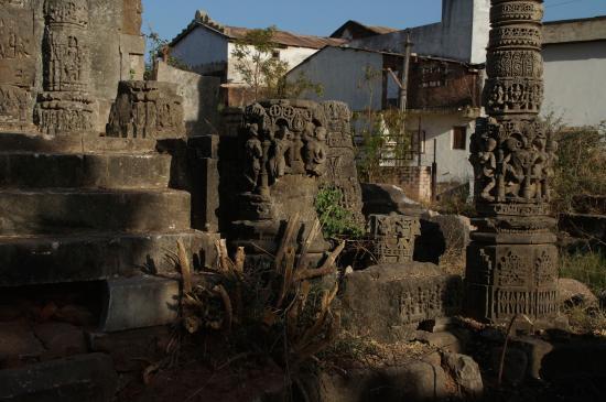 Mehsana, Indien: The Jain Temple