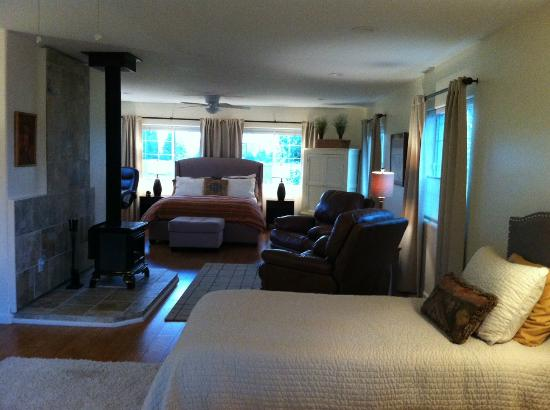 Paonia, CO: the upstairs suite