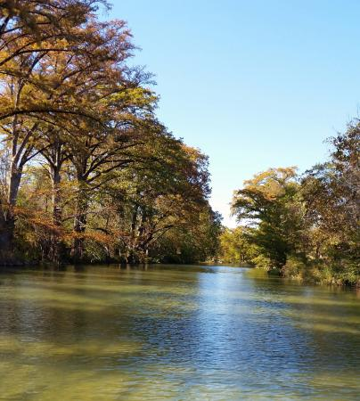 Blanco River in Wimberley, TX.