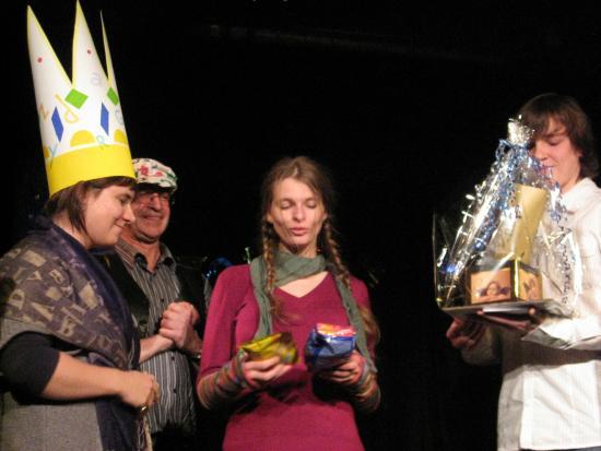 Poetry Slam auf der Binger Bühne