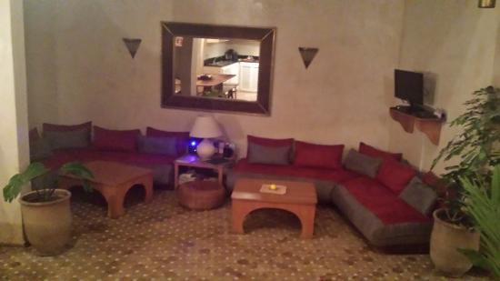 Riad Thais: salotto