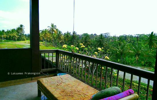Dukuh Village Homestay : View from Di Atas Balcony