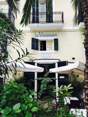 Hotel La Ventana: La Ventana est très bien situé (Dalt Vila en El centro de Ibiza👌Petit clin d œil à Francisco et
