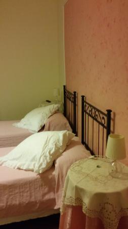 Domus Cestia: la camera rosa
