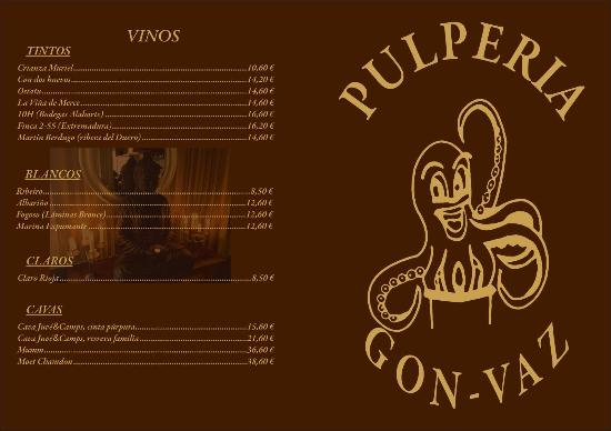 Carta De Precios De La Pulperia Picture Of Restaurante