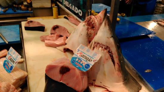 Mercado Central de Abastos: Mercado - parada pescado