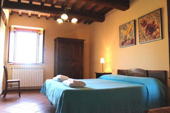 Podere Monti: bedroom
