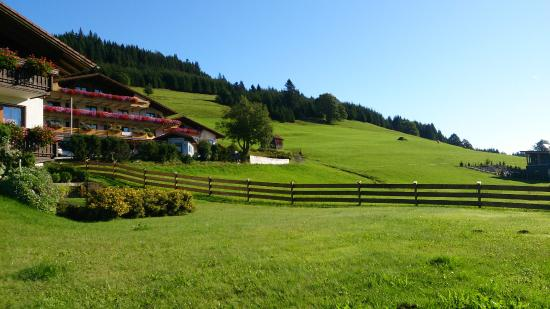 Jungholz, Österreich: View outside the B&B