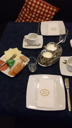 Jungholz, Österreich: Breakfast