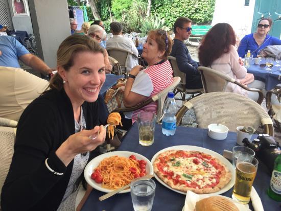 Orlandi Snack Bar Ristorante : Magherita pizza, spaghetti, anacapri panini - fantastic