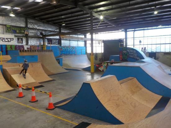 The Bunker Indoor Skate Park