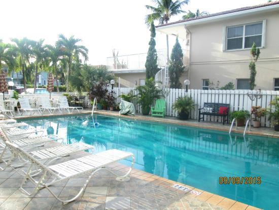 A Sea Garden Resort: pool area