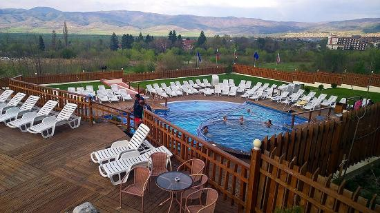 Kotvata Sapareva Banya mineral waters swimming pool