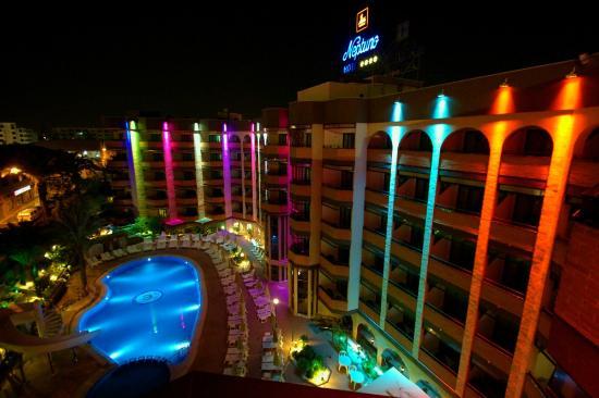 Night Picture Of Mur Hotel Neptuno Gran Canaria Playa Del Ingles