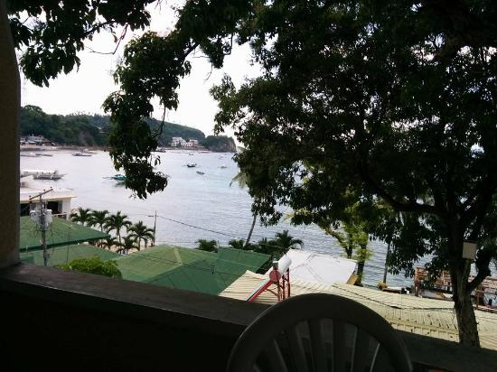 Sabang Inn Beach & Dive Resort: Balcony view