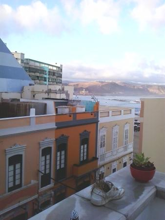 Big Fish Hostel : view from the rooftop :)