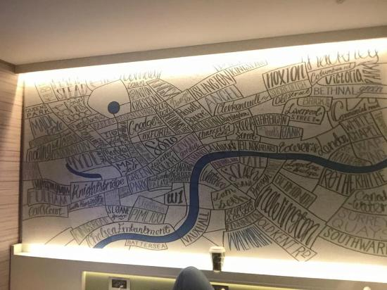 hub by premier inn london covent garden hotel interactive map of london talks to