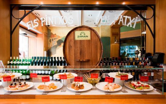 Txapela barcellona gracia 8 eixample ristorante for Case vacanza barceloneta