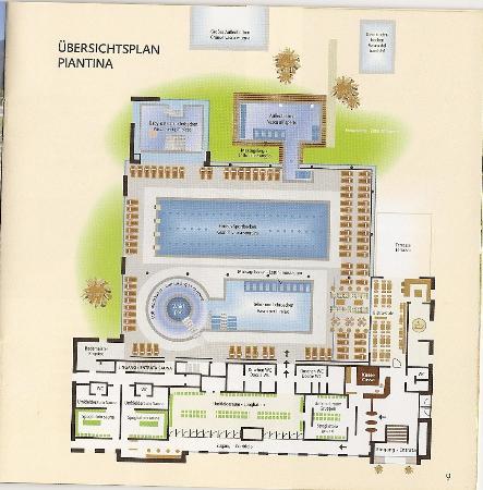Balneum Sauna and Beauty : Piantina Balneum area piscina